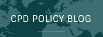 Logo CPD Policy Blog