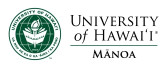 a univ of hawaii