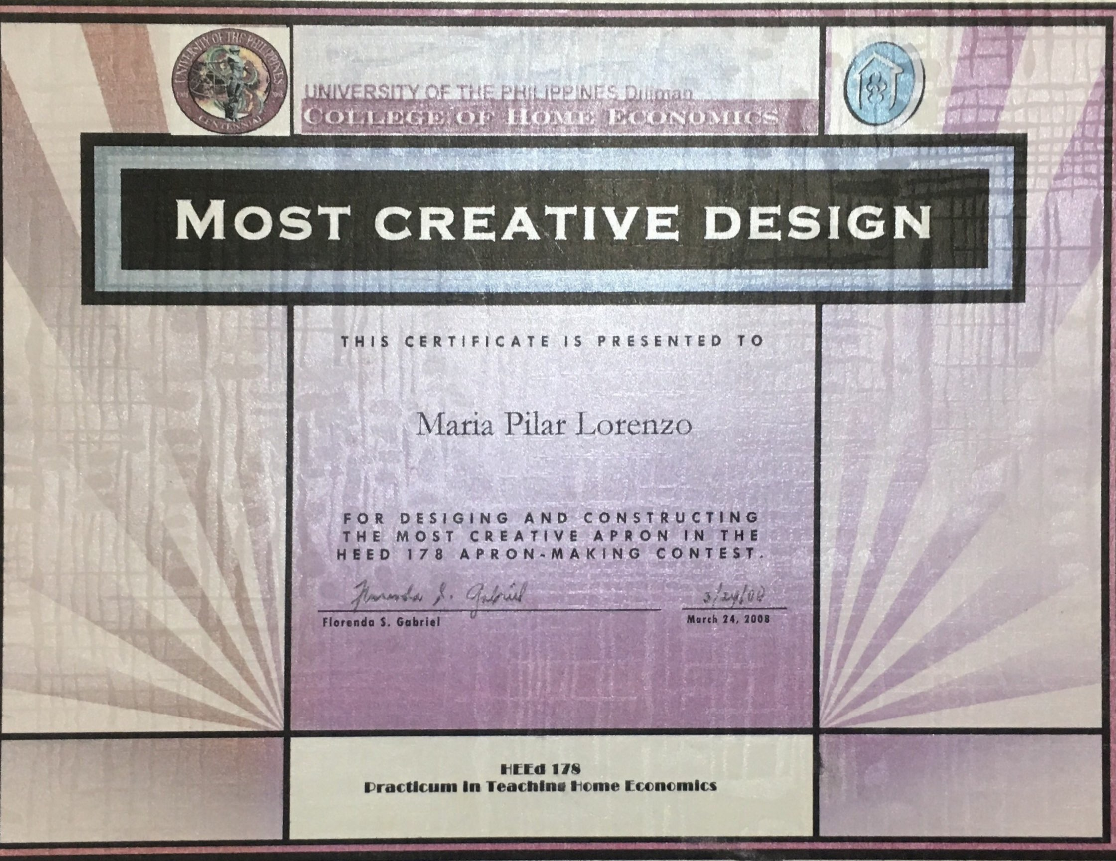 Most Creative Design Award.jpg