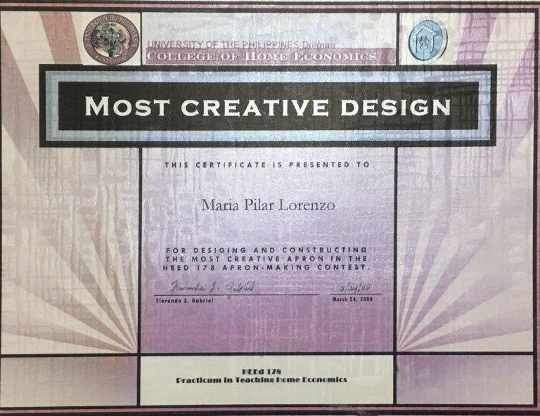 Most Creative Design Award.jpg
